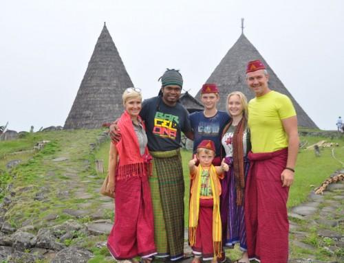 Potovanje po Indoneziji z družino