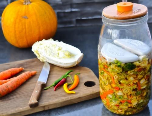 Kimchi (kimči) – korejska fermentirana zelenjava – eliksir mladosti
